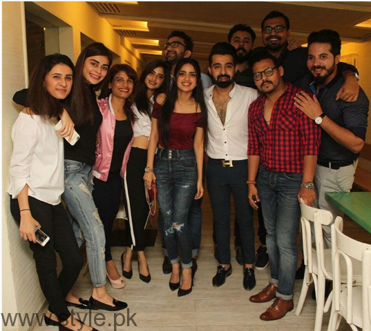 Celebrities at Singer Hassan Hayat's birthday (10)