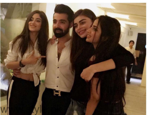 Celebrities at Singer Hassan Hayat's birthday (2)