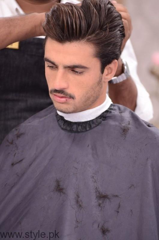 Chai Wala Arshad Khan Hair Cut