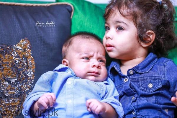 Dua Malik's Baby Boy and Girl