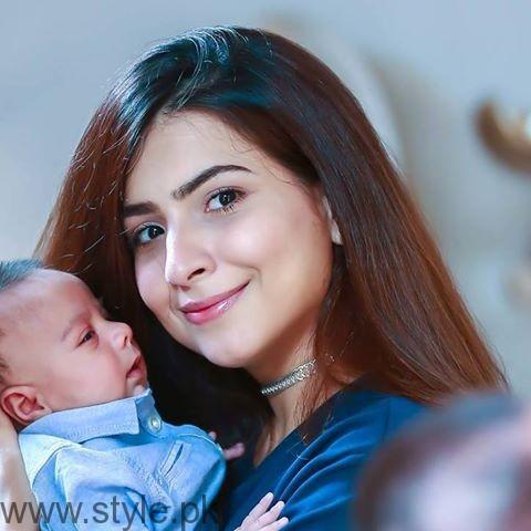Dua Malik's Baby Pictures