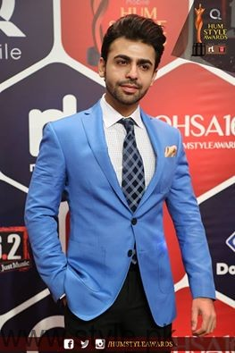 Farhan Hum TV Style Awards