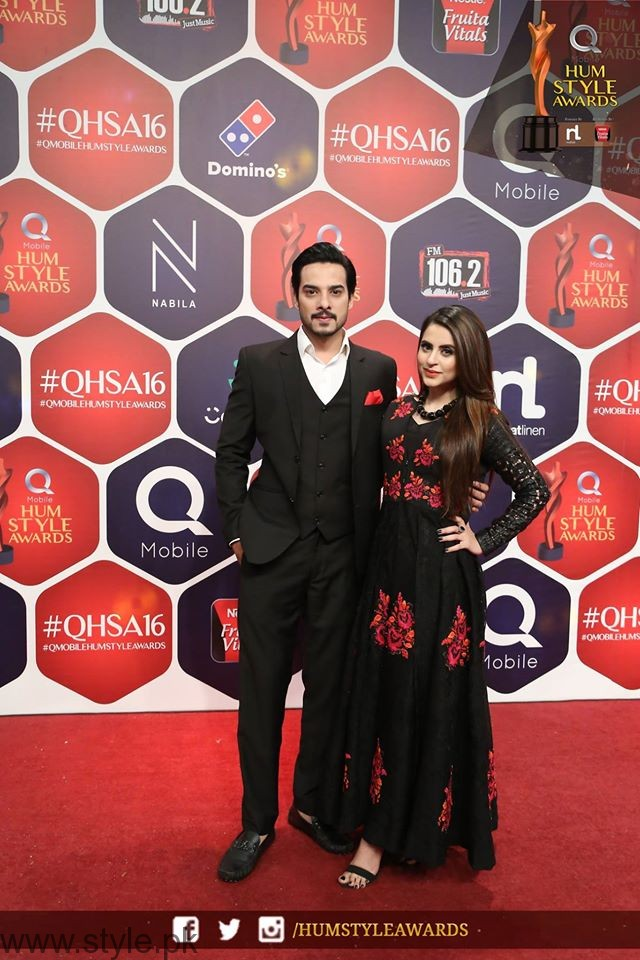 FatimaKanwar HUM TV Style Awards