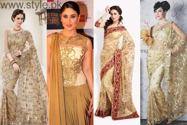 See Golden Saree Collection