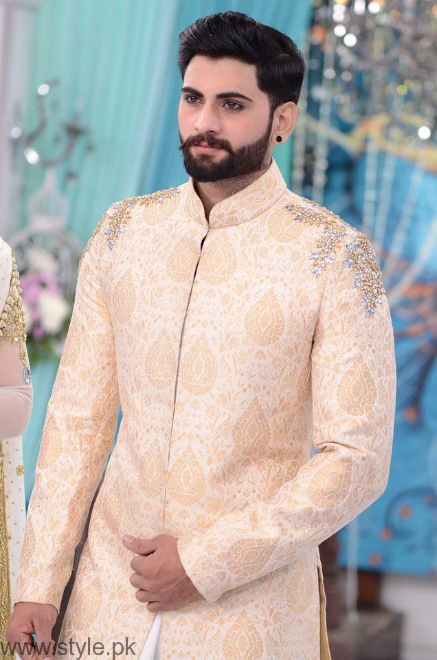 Pakistani Wedding Dresses For Men 16 Best Good Morning Pakistan Sherwani