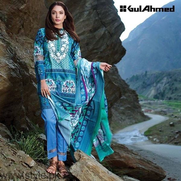 Gul Ahmed Winter Dresses 2016-2017 For Women006