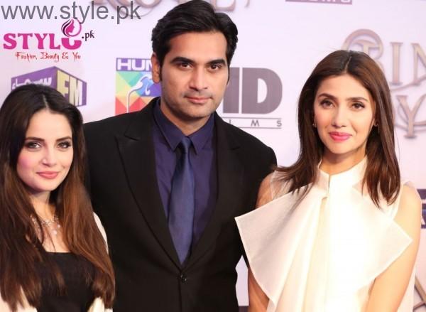 Humayun Saeed, Mahira Khan, Armeena Rana Khan Bin Roye cast