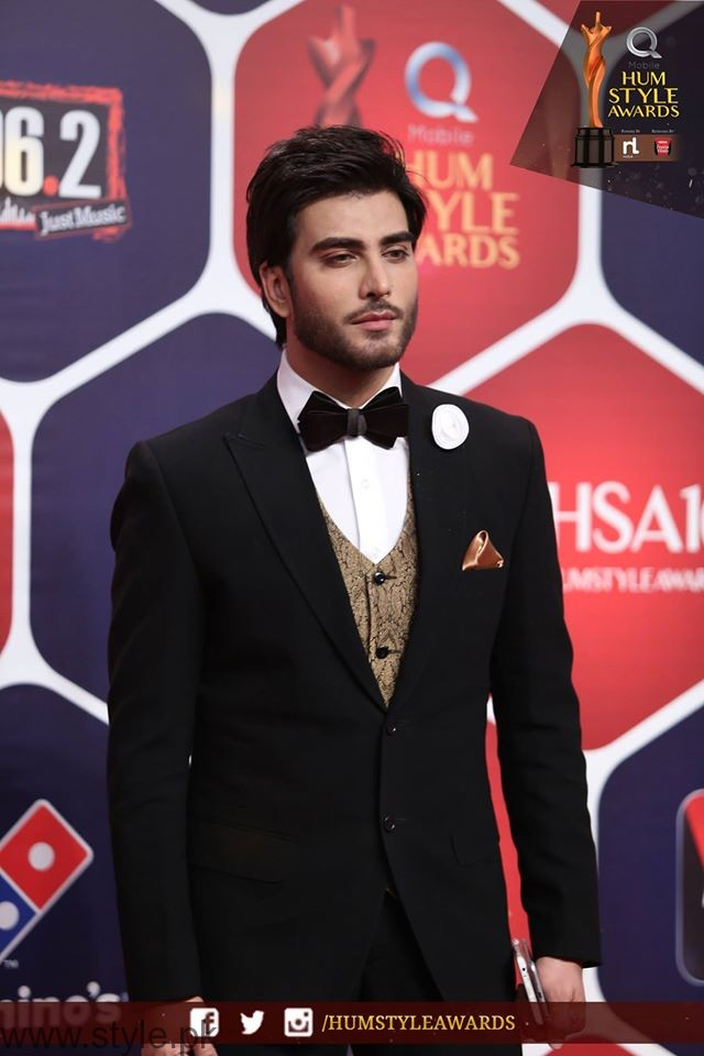 Imran HUM TV Style Awards