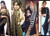 See Latest Black Sarees 2016