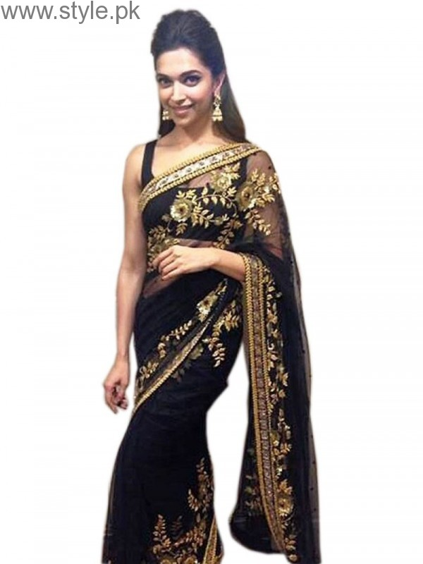 Latest Black Sarees 2016 (14)