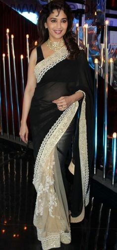 Latest Black Sarees 2016 (17)