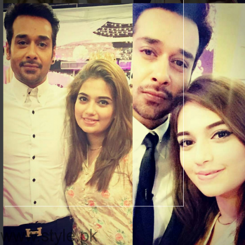 Latest Pictures Of Faysal Qureshi with Daughter Hanish Qureshi Pictures