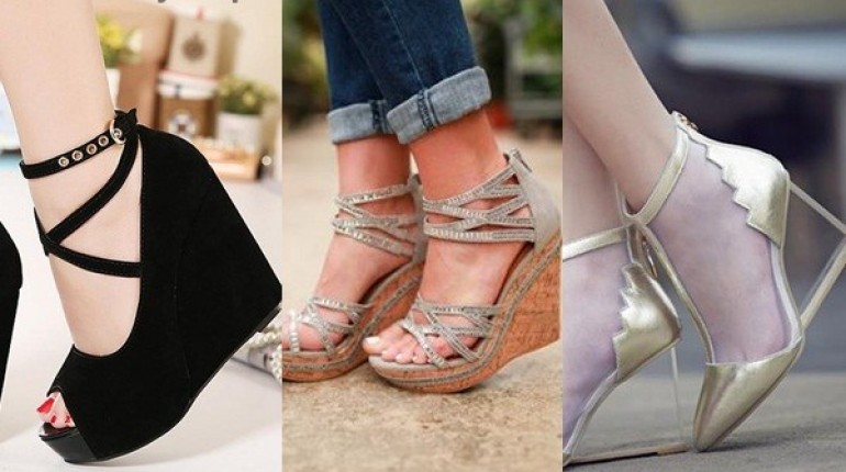 See Latest Wedge Heels 2016