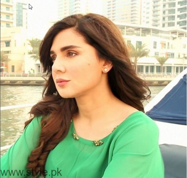 Mahnoor Baloch on the set of her upcoming drama 'Khoobsurat' (6)