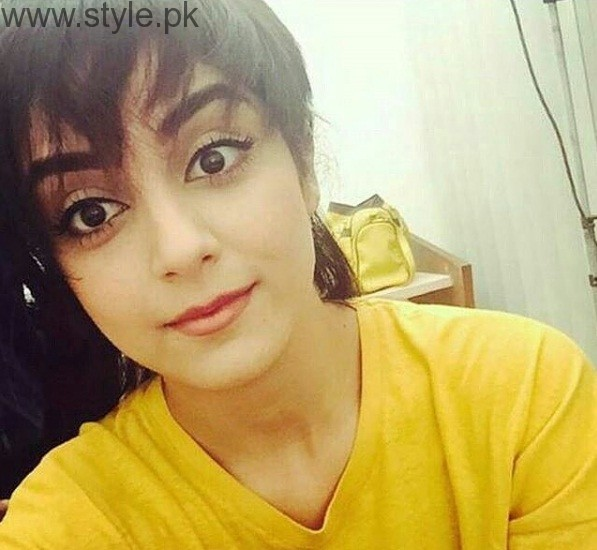 Maya Ali In Boy Cut
