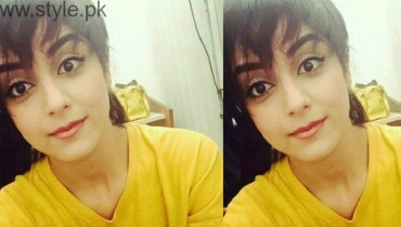 Maya Ali In Short Hairstyle