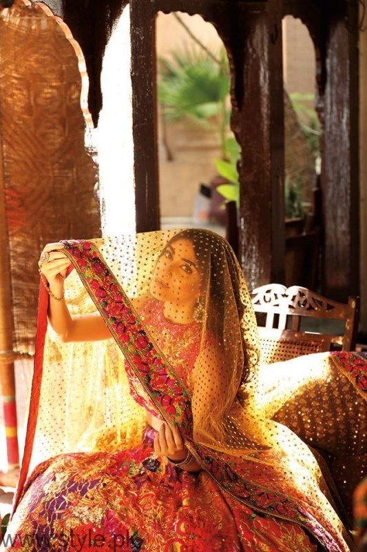 Maya Ali Nomi Ansari Bridal Dresses
