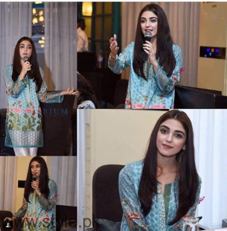 Maya Ali at Shuakat Khanum Breast Cancer Awareness Campaign (2)