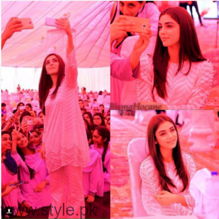Maya Ali at Shuakat Khanum Breast Cancer Awareness Campaign (7)