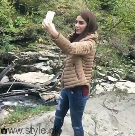 Maya Ali's pictures from Scotland Tour (4)