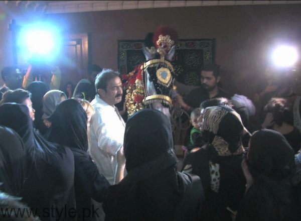 Muharram Majlis is Organized by Celebrities (3)