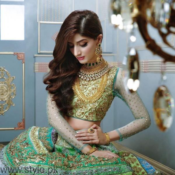 Nomi Ansari Bridal Dresses Featuring Mawra Hocane
