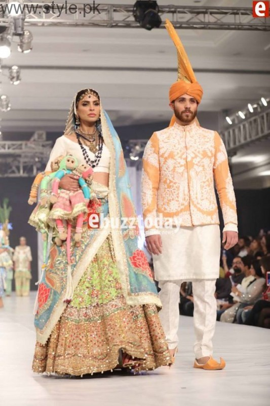 PFDC L'Oréal Paris Bridal Week 2016 Day 3 Pictures (15)