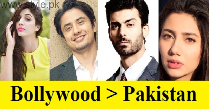 Pakistani Celebrities Vs India