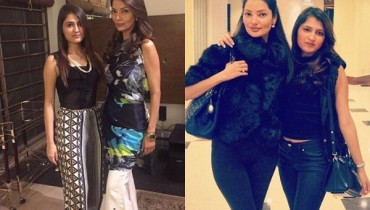 See Pictures of Natasha Hussain with her daughter