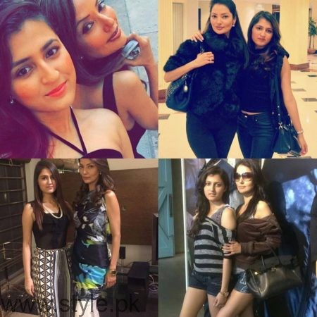 Pictures of Natasha Hussain with her daughter (2)
