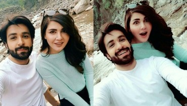 SeeRecent Pictures of Mahnoor Baloch and Azfar Rehman