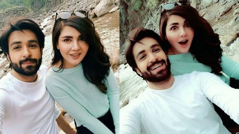 SeeRecent Pictures of Mahnoor Baloch and Azfar Rehman