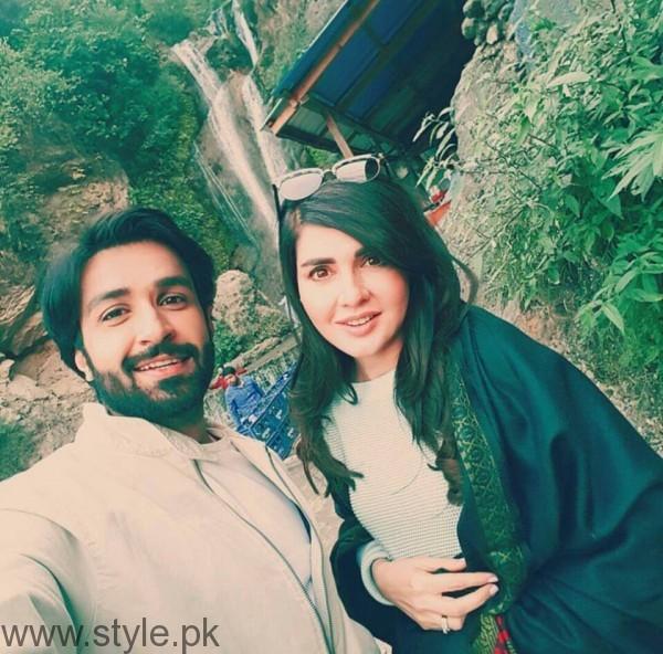 Recent Pictures of Mahnoor Baloch and Azfar Rehman (3)