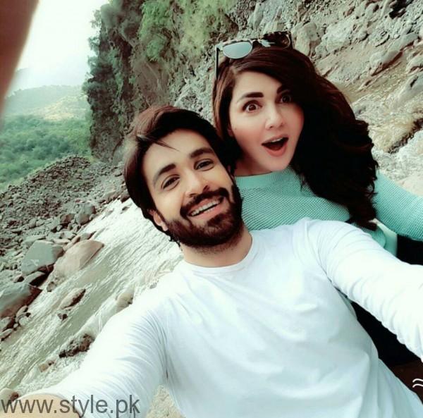 Recent Pictures of Mahnoor Baloch and Azfar Rehman (5)