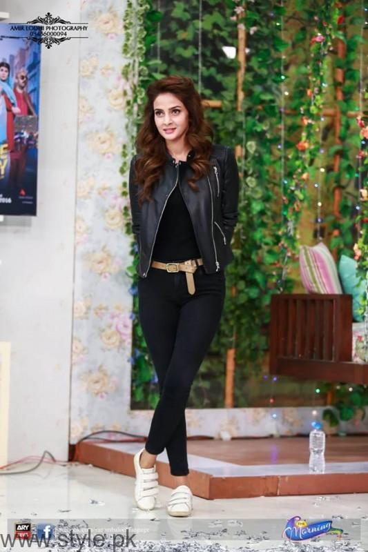 Saba Qamar Promoting Lahore se Aagey