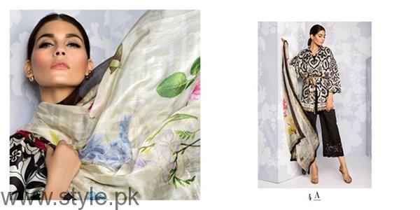 Sana Safinaz Silk Dresses 2016 For Women006
