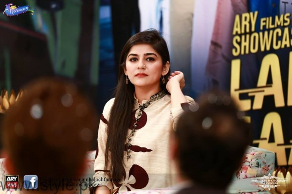 Sanam Baloch The Morning Show Host