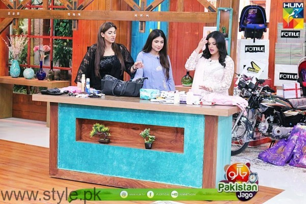 Sanam Jung and Dua Malik Jago Pakistan Jago