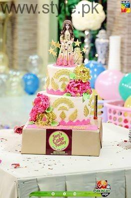 Sanam Jung's Birthday celebration in Jago Pakistan Jago (4)