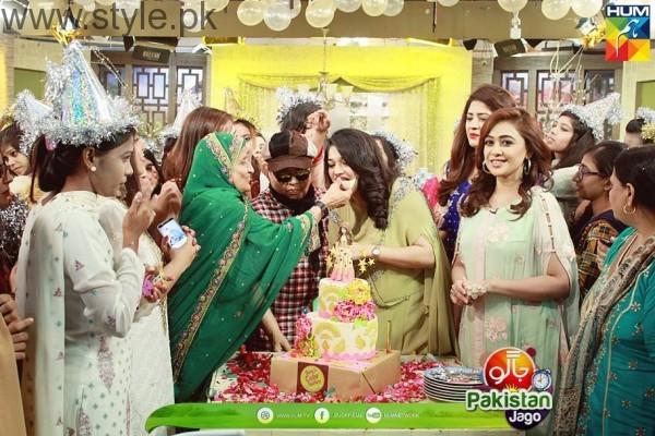 Sanam Jung's Birthday celebration in Jago Pakistan Jago (7)