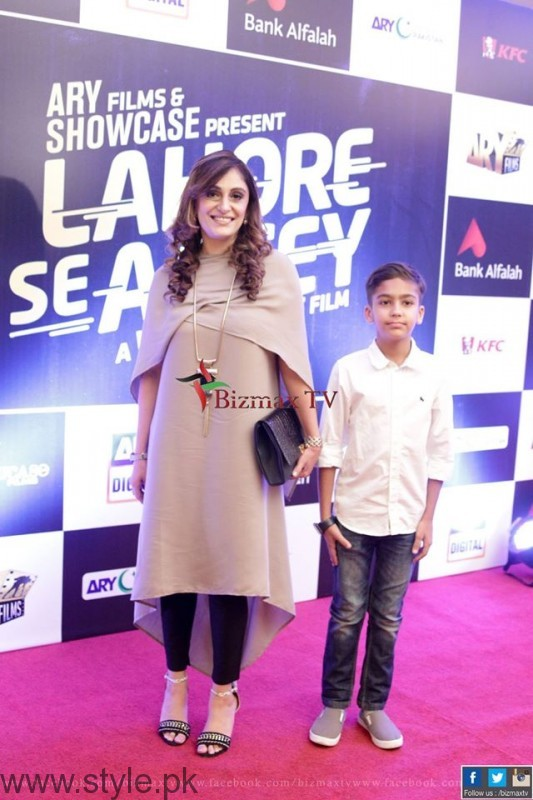 Shazia Wajahat at Music Launch Of Lahore Se Aagey