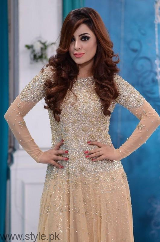 Trendy Bridal & Formal Dresses in Nida Yasir Show