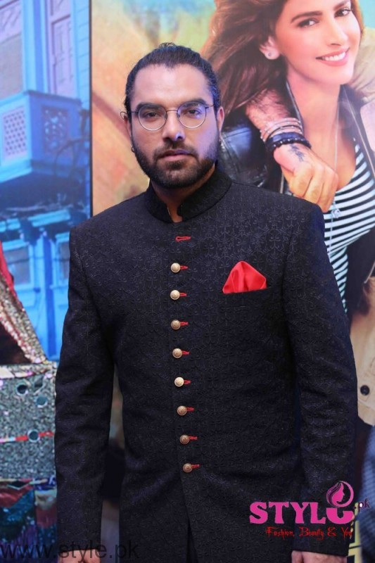 Yasir Hussain at Media meet held for Lahore se Aagey