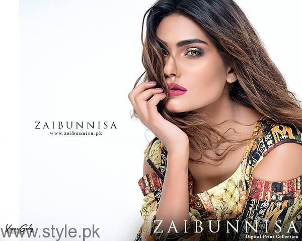 Zaibunnisa Digital Dresses 2016 For Women001