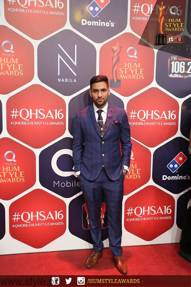 ZaidA Hum TV Style Awards