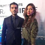 Adeel and Mahira At Dobara Phir Se Karachi Premiere