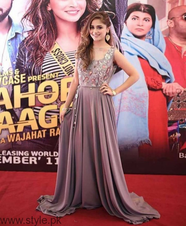 Aima Baig at Lahore Se Aagey premiere