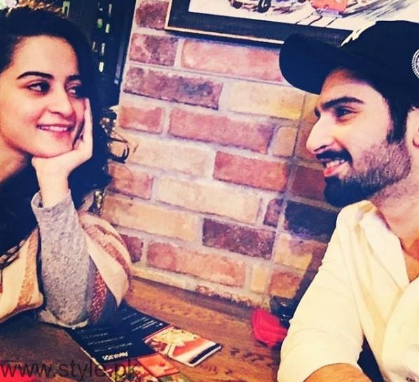 Aiman Khan Muneeb Butt Couple