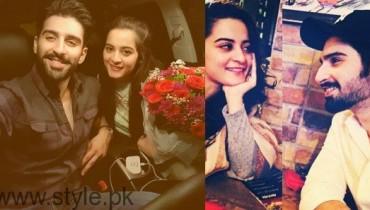 Aiman Khan and Muneeb Butt Couple