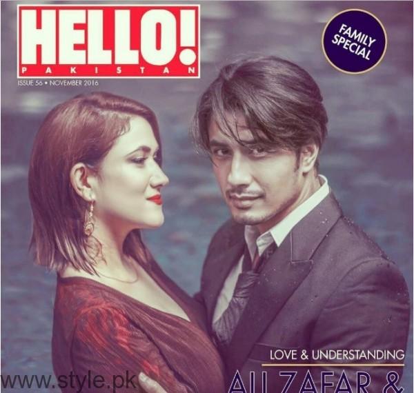 Ali Zafar's Family Photoshoot for Hello Pakistan (2)